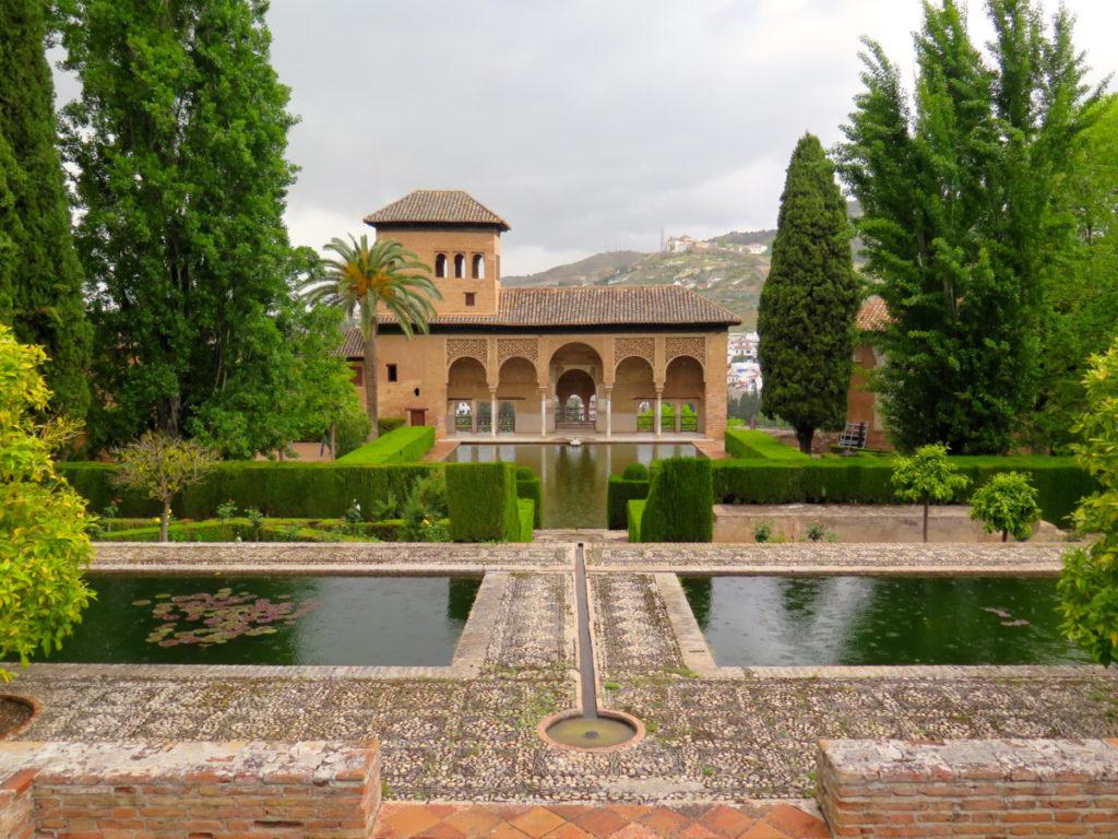 De tuinen van het Alhambra