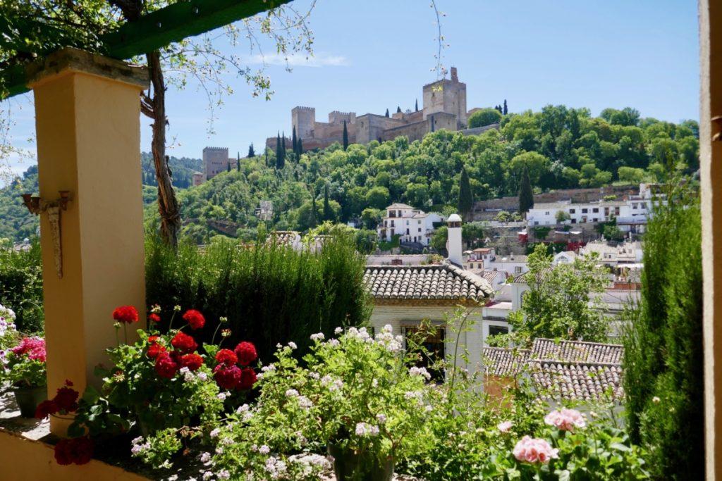 Tuinreizen naar Spanje
